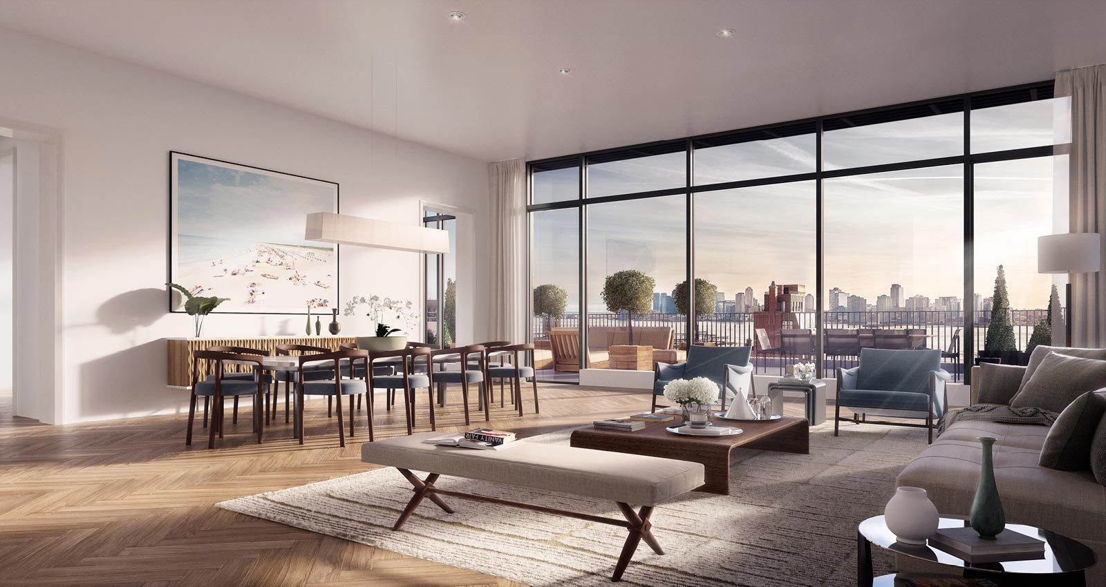 West village penthouses condos for sale downtown for Penthouses for sale in nyc